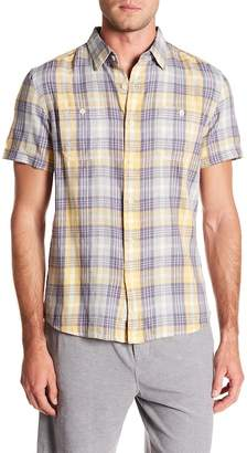 Grayers Sandpiper Summer Slub Short Sleeve Twill Shirt