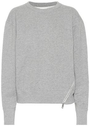 Rag & Bone Zipped cotton sweatshirt
