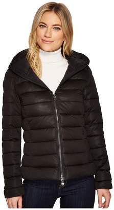 Save the Duck Solid Short Jacket Women's Coat