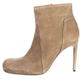 Rick Owens Suede Ankle Boots w/ Tags