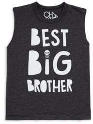 Chaser Little& Big Boy's Big Brother Muscle Tee