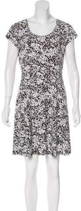 MICHAEL Michael Kors Floral Print A-Line Dress