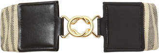 MAISON BOINET Zamac Buckle Elastic Belt