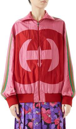 Gucci Interlocking-G Technical Nylon Jacket