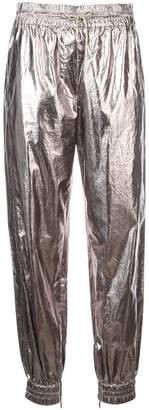 Jason Wu metallic structured trousers