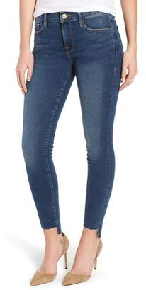 Frame Le Skinny de Jeanne Raw Step Hem Skinny Jeans