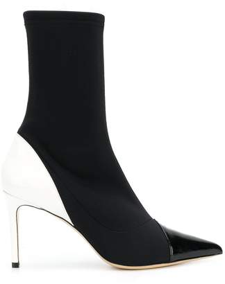 Aldo Castagna stiletto sock boots