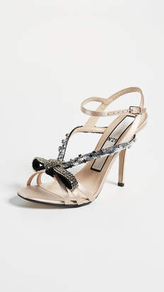 No.21 No. 21 Bow Embroidery Sandals