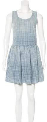 Current/Elliott Gingham Sleeveless Dress