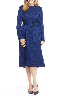 Gal Meets Glam Frances Empress Damask Shirtdress
