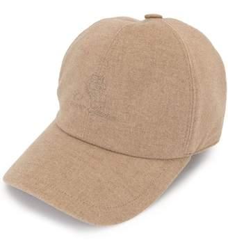 Loro Piana logo embroidered cap