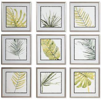 Uttermost Verdant Impressions Leaf Prints Set of 9