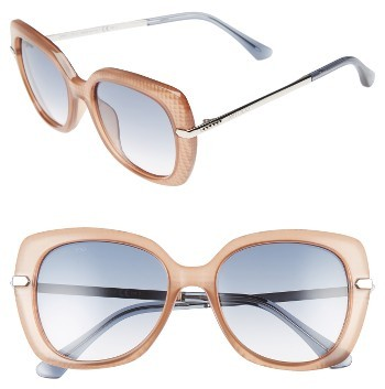 Jimmy ChooWomen's Jimmy Choo Ludis 53Mm Gradient Sunglasses - Black/ Gold/ Copper
