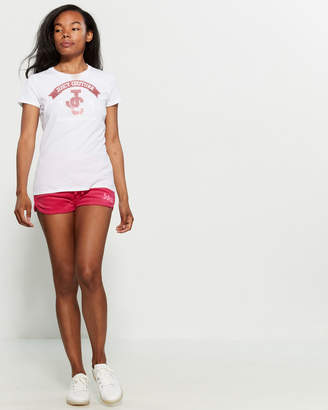 Juicy Couture Glitter Logo Tee