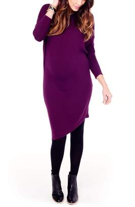 Ingrid & Isabel R) Asymmetrical Maternity Dress