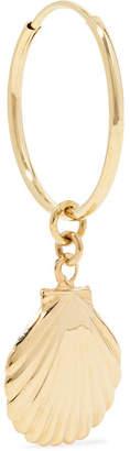 Loren Stewart - Birth Of Venus Gold Hoop Earring