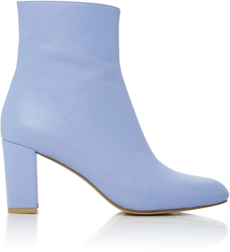 Agnes Leather Ankle Boots