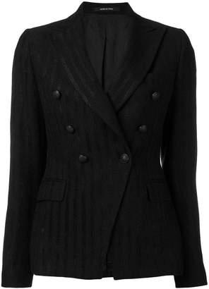 Tagliatore pinstripe fitted blazer