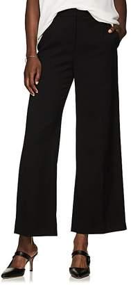 The Row Women's Ina Wool Crop Wide-Leg Trousers