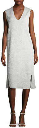 Zero Maria Cornejo Linen-Blend Tank Dress