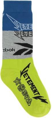 Vetements x REEBOK Short socks