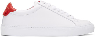 Givenchy White Urban Knots Sneakers $495 thestylecure.com