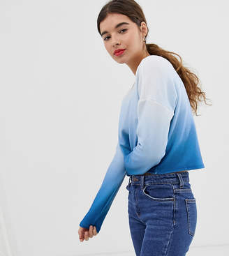 New Look top in blue ombre