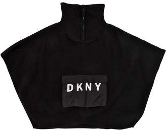 DKNY Knit Turtleneck Cape