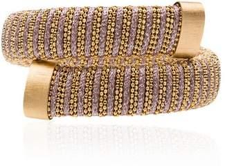 Carolina Bucci Caro gold-plated bangle