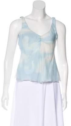 Armani Collezioni Silk Sleeveless Blouse