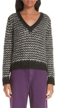 Simon Miller Wool Blend V-Neck Sweater