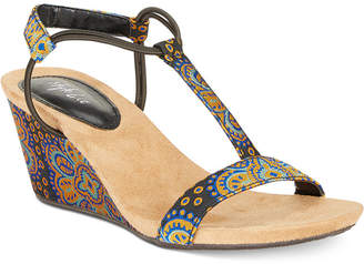 Style&Co. Style & Co Mulan Wedge Sandals, Women Shoes