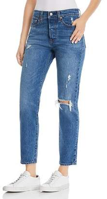 Levi's Wedgie Icon Fit Straight Jeans in Higher Love