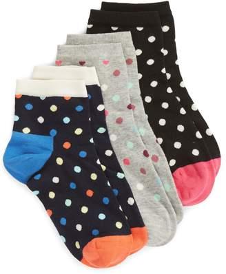 Happy Socks Dot 3-Pack Ankle Socks