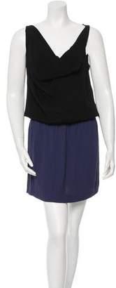 Diane von Furstenberg One-Shoulder Knee Length Dress