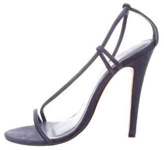 Halston Ankle Strap Sandals