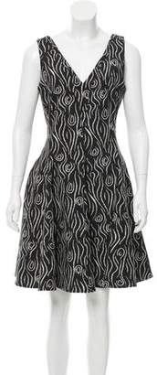 Opening Ceremony Printed Flare Dress