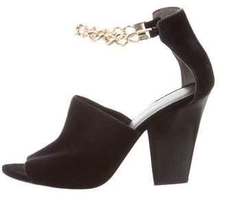 3.1 Phillip Lim Suede Chain-Link Sandals