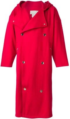 JC de CASTELBAJAC Pre-Owned hooded oversized coat