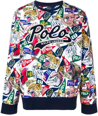 c436006e Mens Patterned Sweatshirt - ShopStyle