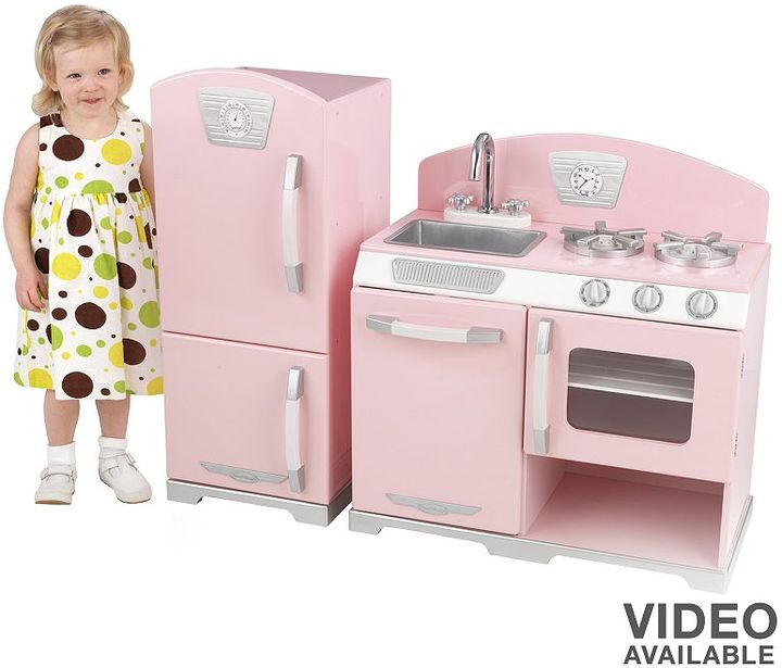 Kid Kraft retro kitchen play set