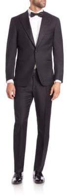 Isaia Single-Button Wool Tuxedo