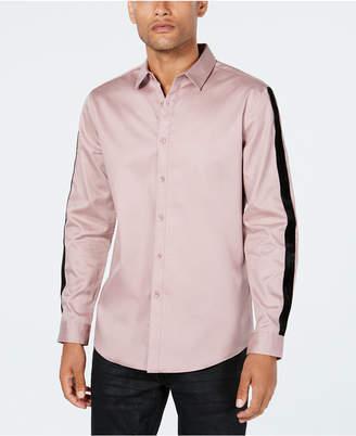 INC International Concepts Inc Men's Velvet Stripe Shirt