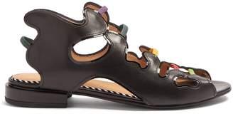 Toga Rainbow cut-out sandal