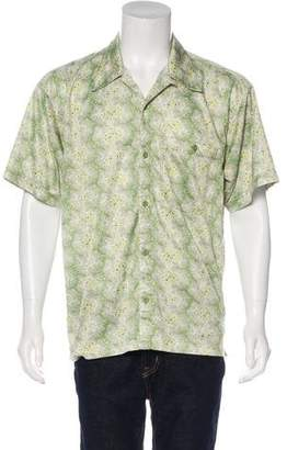Patagonia Floral Print Button-Up Shirt