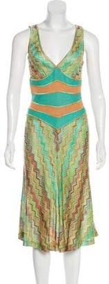 Missoni Sleeveless Midi Dress