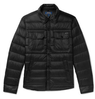 ec788ea04a89 Polo Ralph Lauren Cire Quilted Shell Down Jacket - Men - Black
