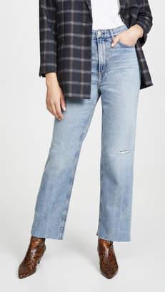 Rag & Bone Ruth Super High Rise Straight Jeans