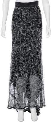 Juan Carlos Obando Embellished Maxi Skirt