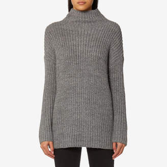 Joules Women's Prunella Ribbed Funnel Neck Jumper